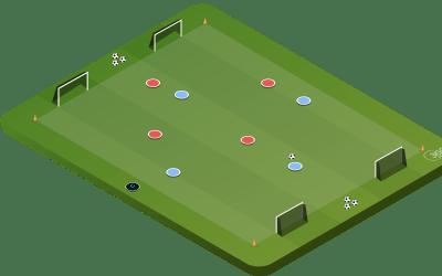 4v4 To Mini Goals