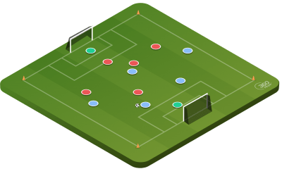 6v6 To Large Goal