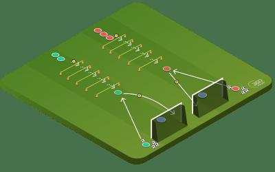 Plyometric Finishing Drill